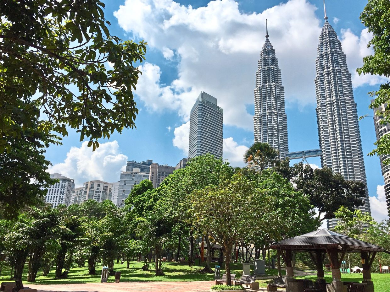 The Petronas Twin Towers has one of highest yearly assessment bills in Kuala Lumpur. — Filepic