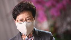 Hong Kong's Carrie Lam slams hypocrisy after US political unrest