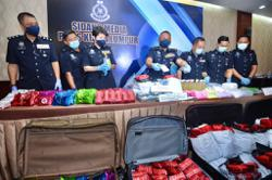 RM4.3mil worth of drugs seized in KL