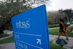 Infosys raises revenue forecast as demand rises