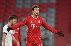 Injured Bayern midfielder Goretzka to miss German Cup game