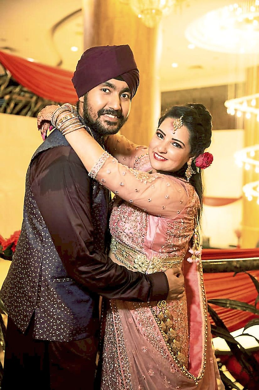 Gurpreet and Ashvindip have had to postpone their wedding twice but share hopes of being married as soon as possible.
