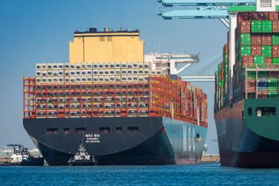 Image of article 'Surging shipping rates pose new headwind for global economy'