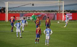 Barca edge Sociedad in shootout to reach Super Cup final