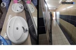 Health officials clean up quarantine centre toilets