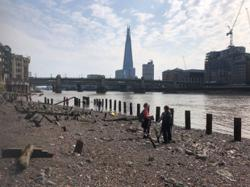 Search the Thames river for 'treasures' on a mudlarking tour