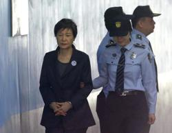 S. Korea's top court upholds ex-president Park's 20-year jail term