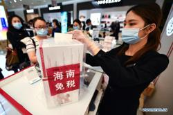 Duty-free sales put China's Hainan on high wave of growth