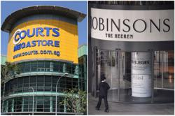 Courts to take over space vacated by Singapore Robinsons