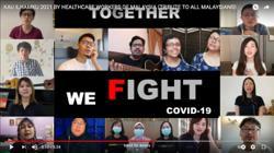 Video of Malaysian healthcare workers singing 'Kau Ilhamku' goes viral