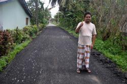 Man says sorry for installing 11 speed bumps on street next to his home