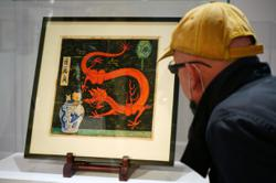 Lost Tintin painting could fetch over RM10mil, after spending years in a drawer