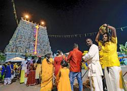 Conditional MCO: Low-key Thaipusam celebration in Ipoh
