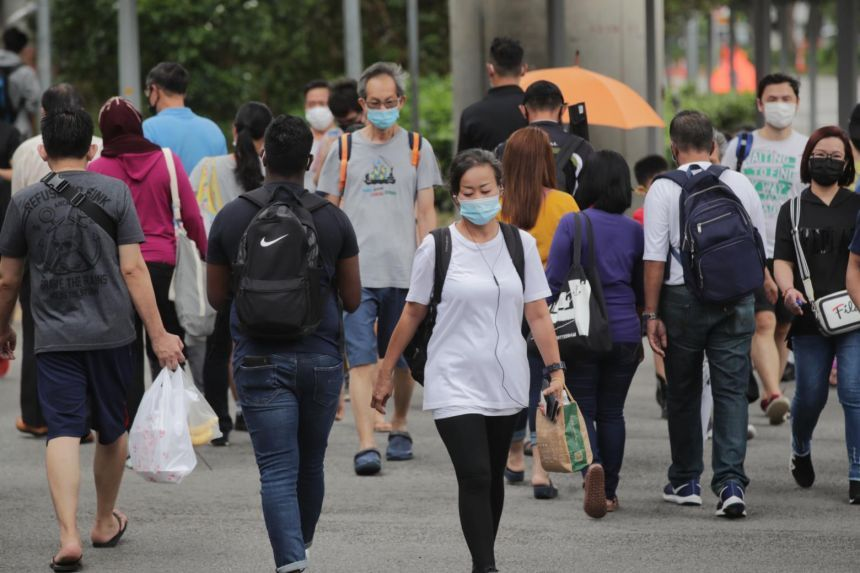 There were 30 new coronavirus cases confirmed as at Friday noon (Jan 15), taking Singapore's total to 59,059. - The Straits Times/Asian News Network