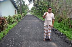 Man apologises for making 11 speed bumps near his home