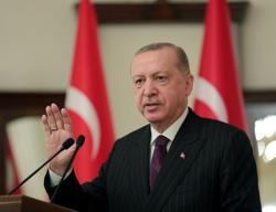 Turkey's Erdogan receives COVID-19 vaccine