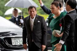 Philippines' Duterte denies his daughter to run for presidency, says presidency no job for a woman
