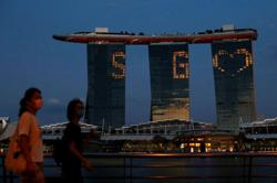 S'pore: WEF targets Marina Bay Sands for Davos' summit; govt confirms 30 Covid-19 cases - 29 imported, one local
