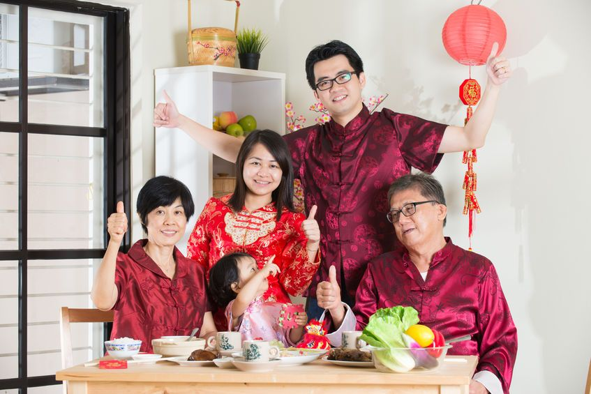 Chinese New Year is a time of reunion and family bonding.