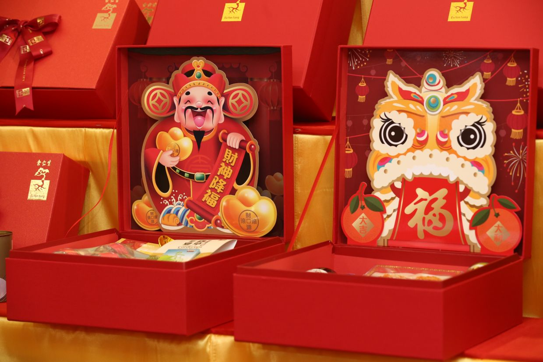 Eu Yan Sang 3D hamper and gift set.