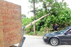 No visits to Orang Asli village allowed