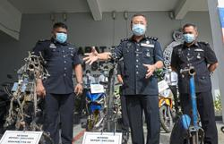 End of the road for two motorcycle theft gangs