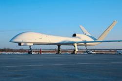 New combat drone makes successful test flight