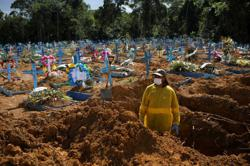 Brazil reports more than 1,000 COVID-19 deaths for fourth consecutive day