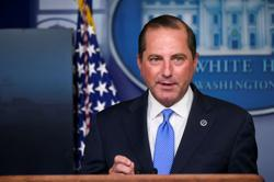 HHS's Azar tells Trump Capitol attack could tarnish legacy