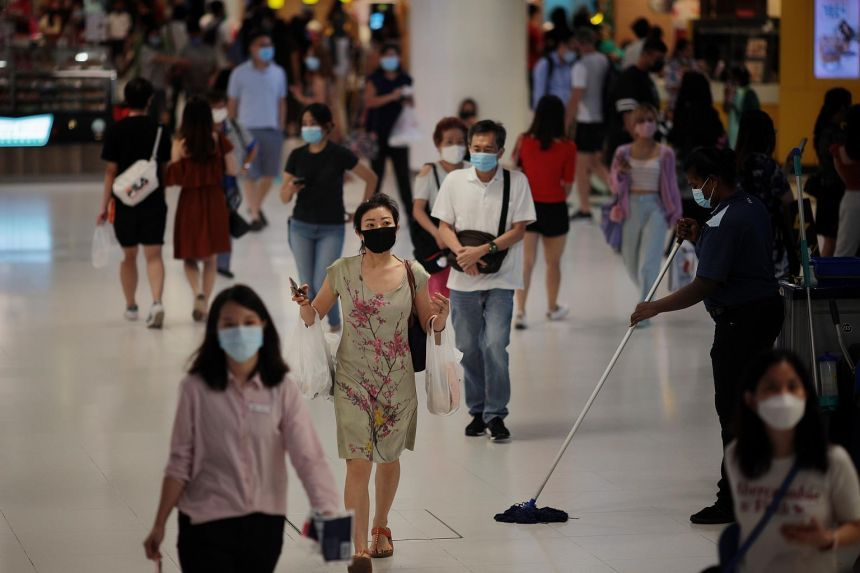 Singapore reported 30 new Covid-19 cases on Sunday (January 17, 2021), two of which are in the community and 28 that are being imported.  - The Straits Times / ANN