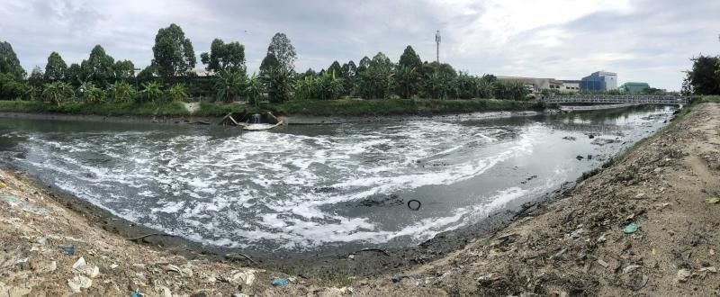 Paint manufacturing plant in Rawang suspected of releasing prohibited effluent