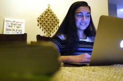 US teens tutor peers online to fill need during pandemic