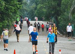 Public surprised to find popular Bukit Kiara park still closed