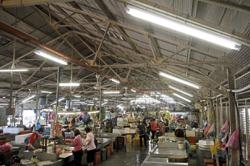 Beautifying Pulau Tikus market