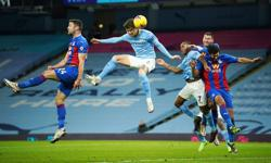 Double for Stones as Man City crush Palace to go second
