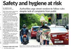 Authorities to act swiftly against food peddlers on road