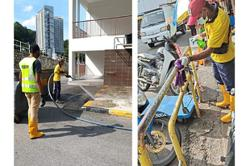 Council steps up disinfection in public places