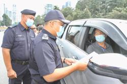 JPJ officers deployed to assist KL police in MCO enforcement