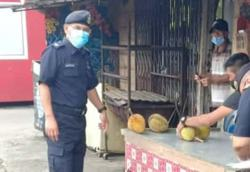 Durian seller in Sibu compounded for violating MCO