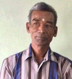 Thamotharampillai Kanagalingam is missing since last Friday.