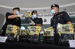 Duo caught with almost half a million ringgit of syabu at Penang jetty
