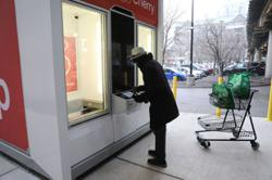 As online shopping soars, US grocery chain experiments with automated pickup kiosks