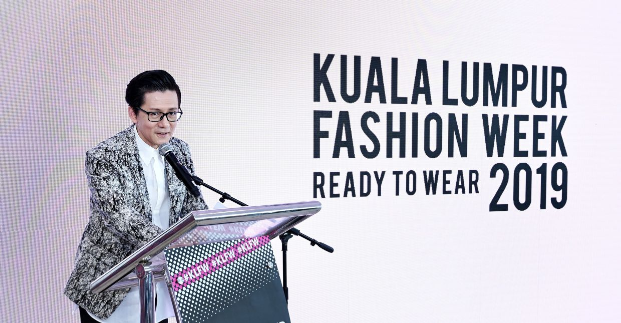 Andrew Tan, KLFW founder and Bachelor in Fashion Design Technology programme co-director.