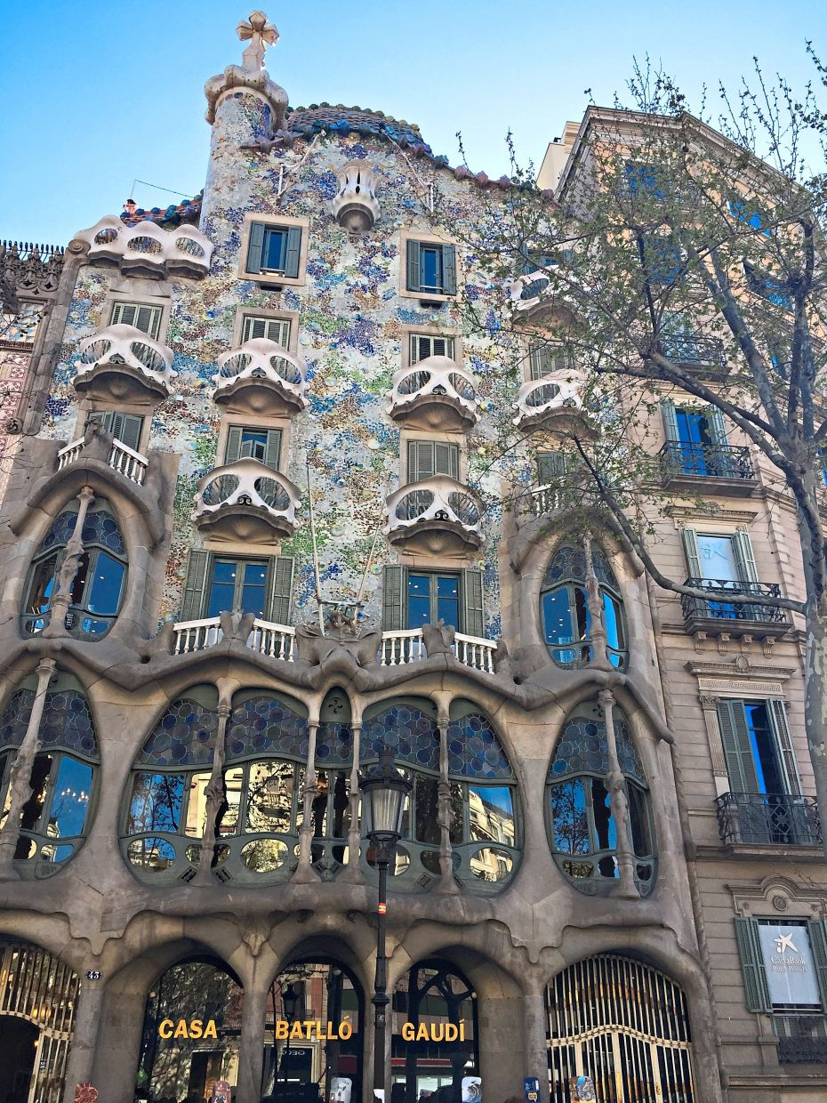 Casa Batllo, designed by the famous architect Antoni Gaudi, is one of the places featured in A Virtual Tour Live's Facebook event. — MING TEOH/The Star