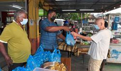 Eatery owner dishes out free food to those in need