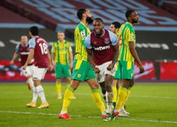 Superb Antonio gives West Ham 2-1 win over West Brom