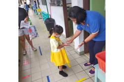 Positive attendance in Sabah on first day of school