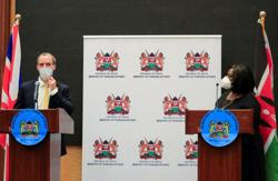 Britain helps Kenya prepare for roll-out of COVID-19 vaccine