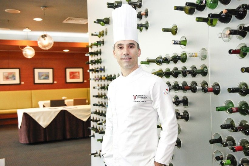 Taylor's Culinary Institute director Chef Frederic Cerchi has 20 years of experience, having worked at a string of Michelin-star restaurants. His network of connections has allowed Taylor's students to secure international internship placements in top Michelin-star restaurants around the world to be guided by culinary experts.