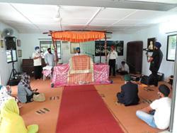Association holds prayers for soldiers killed in Kampar battle